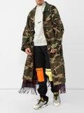 Vetements - Camo Scarf Trench Coat - Men