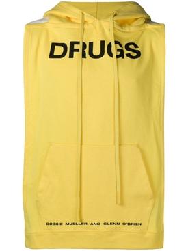 Drugs pannel hoodie