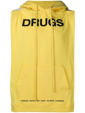 Raf Simons - Drugs Pannel Hoodie - Men