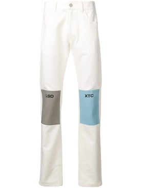 Raf Simons - Lsd Xtc Patch Fitted Jeans - Men