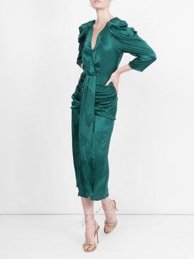 Magda Butrym - Downey Silk Jacquard Dress - Women