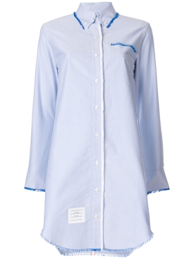 classic shirtdress BLUE