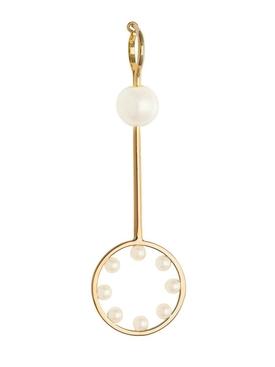 double bubble earring