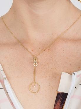 zip bubble necklace