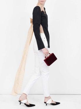 Ellery - Marsden Backless Silk Blouse - Women