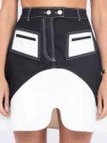Ellery - Color Block Skirt - Women