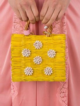 Heimat Atlantica - Celeste Mini Pink Basket Bag - Women