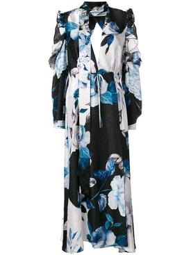 floral print maxi dress MULTICOLOR