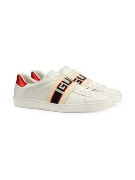 Gucci - Gucci Stripe Leather Sneaker - Men
