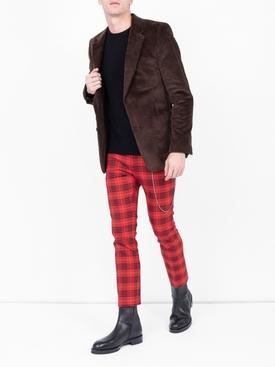 neo punk tartan pants