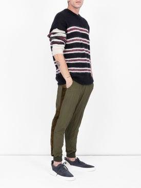 Haider Ackermann - Drawstring-waist Sweatpants Khaki Green - Men
