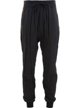 Haider Ackermann - Drawstring-waist Sweatpants Black - Men