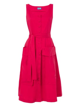 Lhd - Red Ramatuelle Dress - Women