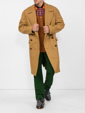 Fred Perry X Raf Simons - Oversized Pique Polo Orange - Men