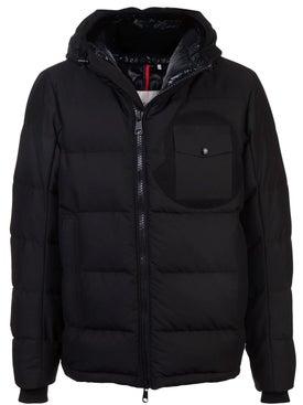 Moncler - Fitted Puffer Jacket Black - Men