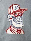 Moncler Genius - 2 Moncler 1952 Embroidered Front Print Sweatshirt Charcoal - Men