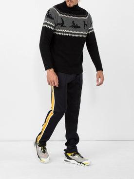 Moncler - Regular Track Pants Black - Men