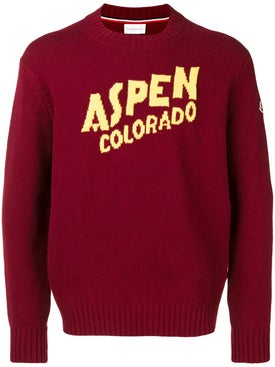 Moncler - Aspen Crew Neck Knitted Sweater - Men