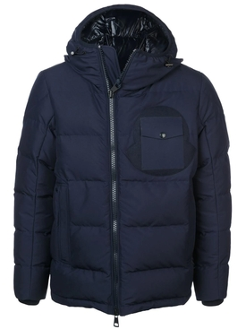 Moncler - Fitted Puffer Jacket Blue - Men