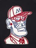 Moncler Genius - 2 Moncler 1952 Embroidered Front Print Sweatshirt Black - Men