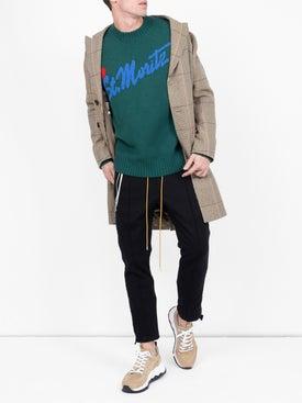 Moncler - Intarsia St. Moritz Knitted Sweater - Men