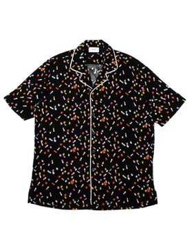 Rhude - Pill Button Down Black - Men