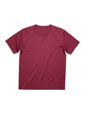 Classic Cotton Logo T-shirt DARK PINK