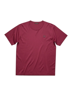 Classic Fit Cotton T-shirt DARK PINK