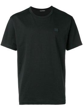 Acne Studios - Nash Face T-shirt Black - Men