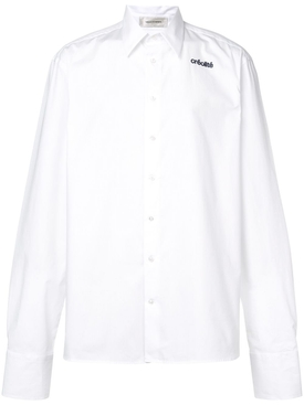 Wales Bonner - Creolite Embroidered Shirt White - Men