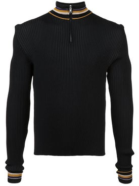 Wales Bonner - Striped Detail Jumper - Men