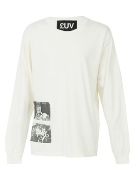 Luv Collections - Miss U Long Sleeve Tee Shirt - Men