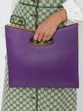 Sara Battaglia - Color Block Hand Bag - Women