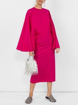 Sara Battaglia - Cape Style Dress - Women