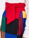 Sara Battaglia - Color Block Skirt - Women