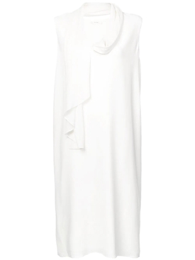 Flynn dress WHITE