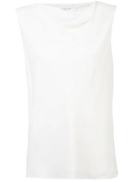 sleeveless top WHITE