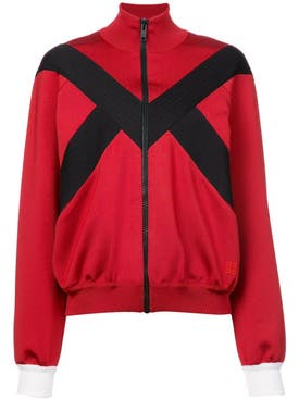 Givenchy - Stripe Detail Zipped Jacket - Women