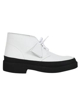 White Desert Galosh Boots