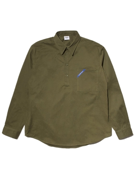 Know Wave - Call Sign Pullover Shirt Green - Men