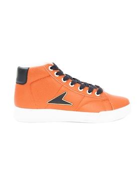Bata x Wilson John Wooden high top sneakers ORANGE