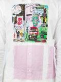 Comme Des Garcons Shirt - Commes Des Garcons X Jean-michel Basquiat Graffiti Printed Shirt - Men
