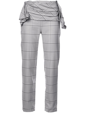 Carmen March - Checked Trousers - Women