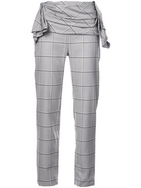 Carmen March - Checked Trousers - Pants