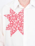 Calvin Klein 205w39nyc - Triangle Embroidered Cotton Shirt - Men
