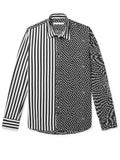 Givenchy - Printed Matte-satin Shirt - Men