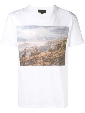 Stella Mccartney - Mountains Print T-shirt - Men