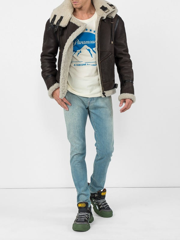 ddf72ba7e Oversize T-shirt with Paramount logo - MEN | The Webster