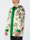 Gucci - Ny Yankees Floral Print Wool Jacket - Men