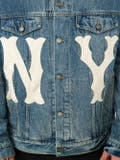 Gucci - Denim Jacket With Ny Yankees' Patch - Men